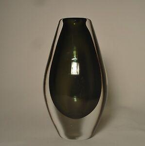 Orrefors Vase Pu 3611 Sven Palmquist 1955 Glas glass Schweden Sverige Sweden