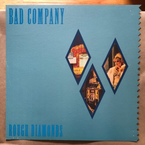 Bad Company Rough Diamonds RARE original promo 12 x 12 poster flat 1982