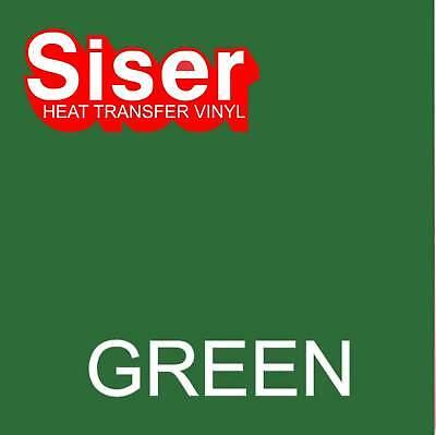 15 X 5 Ft Roll - Green - Siser Easyweed Heat Transfer Vinyl Iron On- Htv