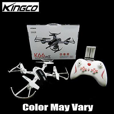 Kingco K66W WiFi FPV 2.4Ghz Gyro 360 Level HD Camera RC Quadcopter Drone RTF