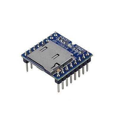 1pcs Micro Sd Tf U-disk By8001-16p Mp3 Player Arduino Audio Voice Module Board S