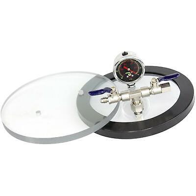 Svac 8 Diameter Polycarbonate Vacuum Chamber Lid