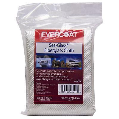 Lot Of 2 Evercoat Auto Marine Industrial Sea-glass Fiberglass Repair Cloth