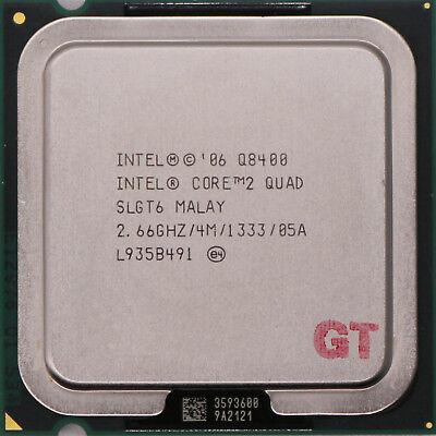 INTEL Core 2 Quad Q8400 SLGT6 Yorkfield Socket LGA 775 CPU Processor