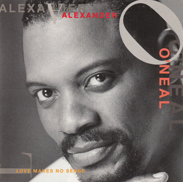ALEXANDER O'NEAL : LOVE MAKES NO SENSE / CD (TABU RECORDS 1993)