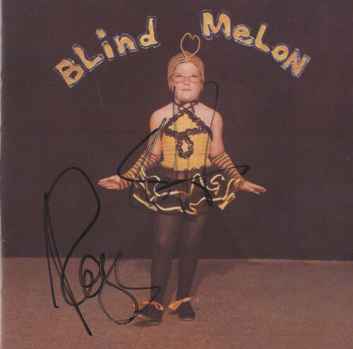 Blind Melon Debut CD Hand signed in Seattle bu Shannon Hoon and Rogers Stevens