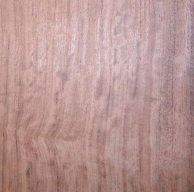 Bubinga Figured African Wood Veneer 44 X 65 On Paper Backer A Grade 140th
