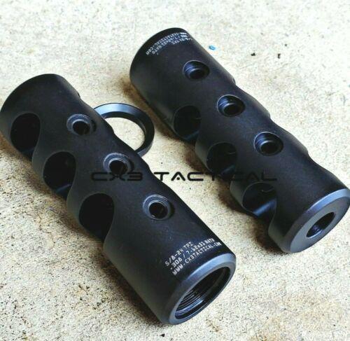 308 Muzzle Brake Compensator Competition Comp 5/8x24 TPI 5/8-24 Crush Washer 762