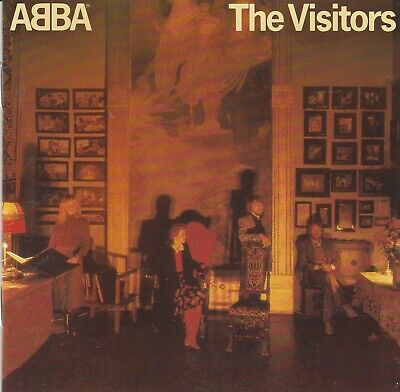 ABBA ‎– The Visitors CD Made in Germany 800 011-2