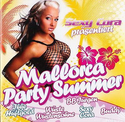 Sexy Cora präsentiert Mallorca Party Summer - 2 CDs - Neu und originalverpackt