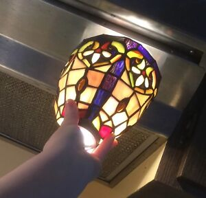 ISO Stained Glass light shades