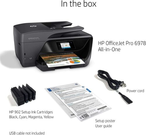 Brand New & Sealed HP OfficeJet Pro 6978 All-in-One Wireless Printer
