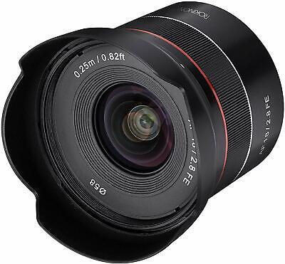 Rokinon 18mm F2.8 Full Frame Auto Focus Wide Angle Lens for Sony E  - (Sony E Mount Wide Angle Full Frame)