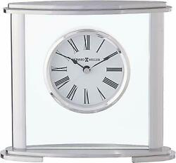 Howard Miller Glenmont Table Clock 645-774 – Modern Glass with Quartz Movement