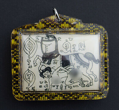 Amuleto Locket Mujer Caballo Thai Maha Sanaeh Nang Tantra Fertilidad Amor 1933
