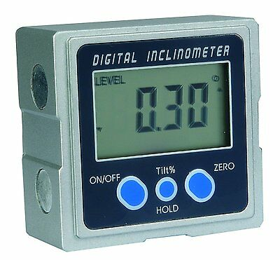 Meba Digital Electronic Magnetic Angle Gage Level Protractor Bevel Gauge