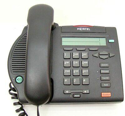 Nortel Meridian M3902 Office Phone Ntmn32ga70 Telephone Charcoal New