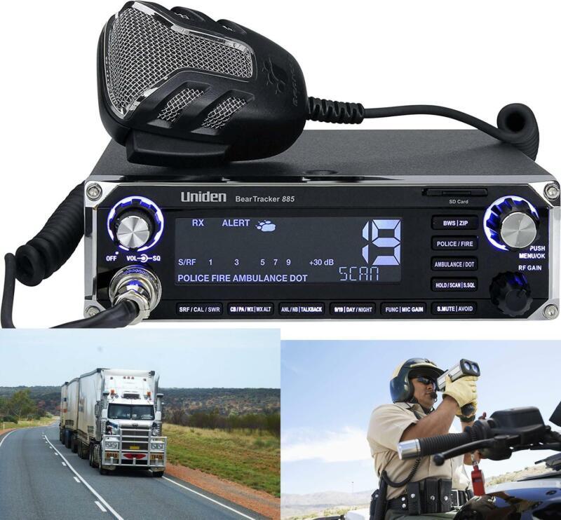 Uniden BEARTRACKER 885 Hybrid Full-Featured CB Radio + Digital TrunkTracking GPS
