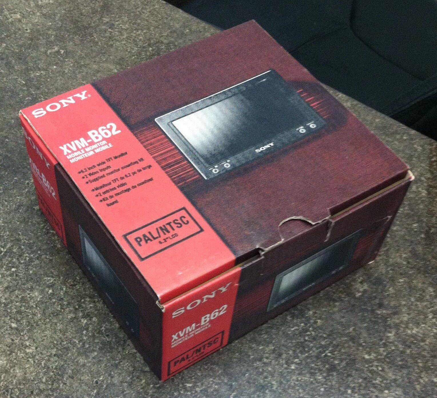 Sony XVMB62 6.25-Inch flush-mount LCD monitor Widescreen TFT