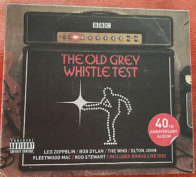 The Old Grey Whistle Test - 40th Anniversary Album Various Artists, 3 CD Box Set