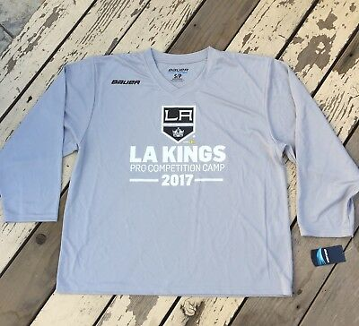 NHL Los Angeles Kings Hockey • PRO Competition CAMP • Senior BAUER JERSEY Small