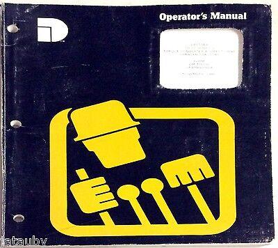 1986 Torque Converter Direct Drive Crawler Tractors Operators Manual