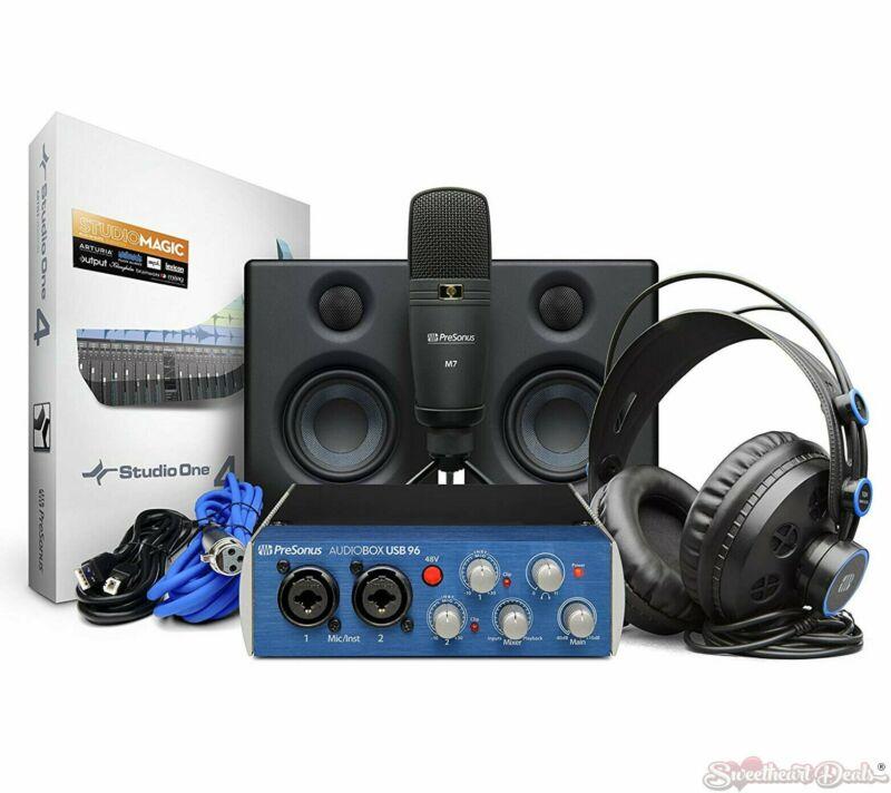 PreSonus Audiobox Studio Ultimate Deluxe Hardware/Software Recording Collection