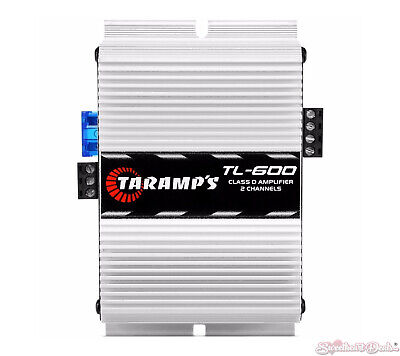 Taramps TL600 170 Watt RMS 2 Channel Car Amplifier 2 Ohms w/Thermal Protection comprar usado  Enviando para Brazil
