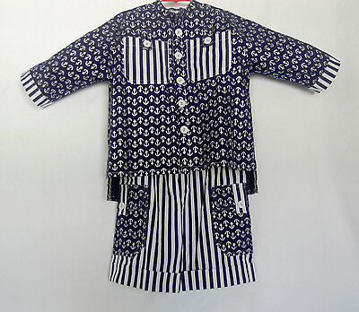 Casual Suits For Boys (*Handcrafted*  Sailor SUIT  for Boys or Girls 4 (four))