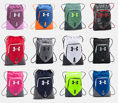 Under Armour Undeniable Sackpack UA Drawstring Backpack Sack Pack Sport Gym - Drawstring Sports Bag