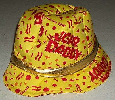 Sugar Candy Man Halloween Party Hat Trick or Treat Babies Daddy Pimp Costume   - Sugar Daddy Costume