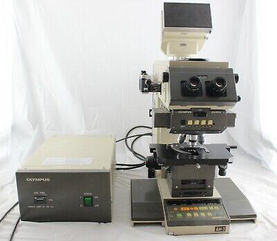 Olympus Nomarski Dic Vanox Ahbt3 Phase Contrast Fluorescence Microscope Plan Apo
