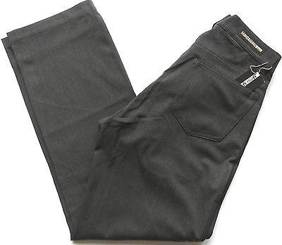 Mish Mash Trousers Men's Pants Lycra Gaberdine Stretch Charcoal Sizes: 28 - 32