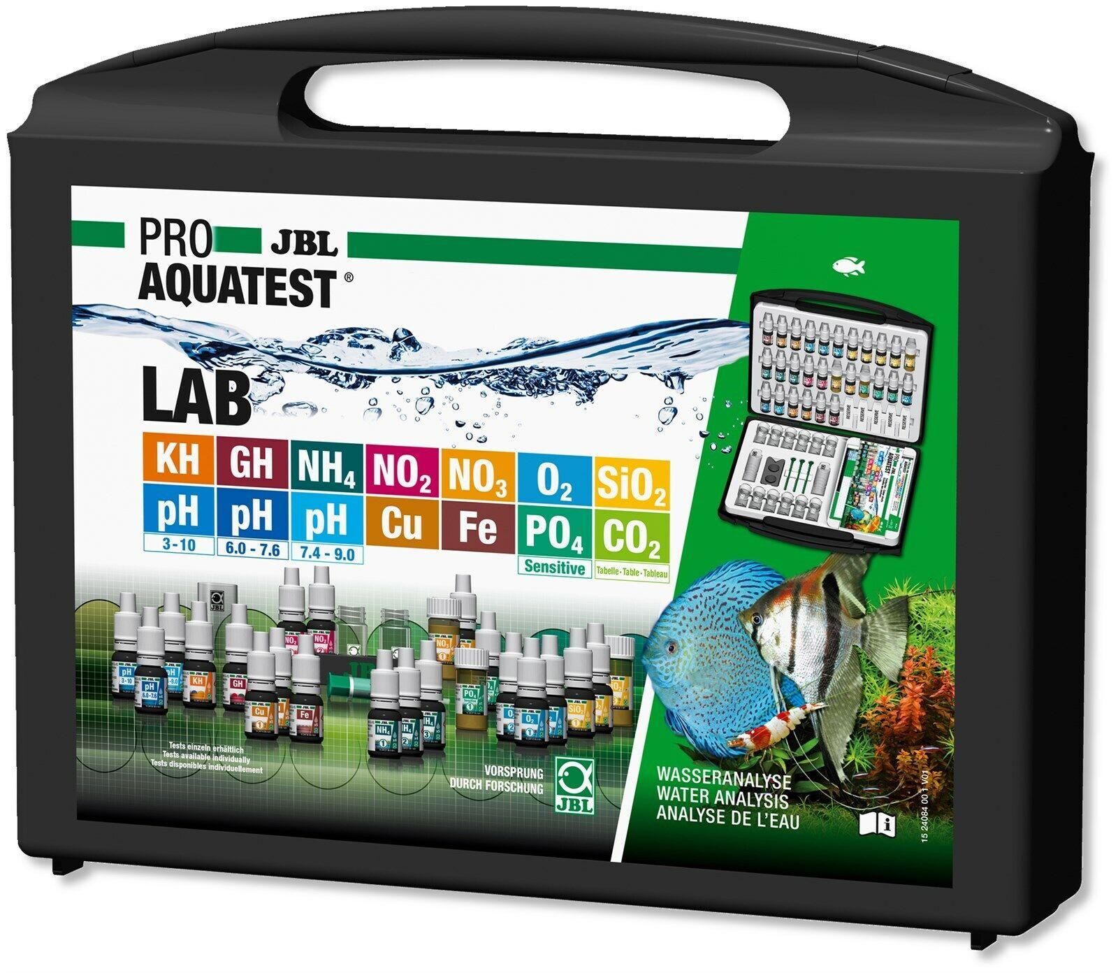 JBL TestLab  Testlabor Testkoffer Süßwasser  Wassertest Aquarium Teich Frisch!