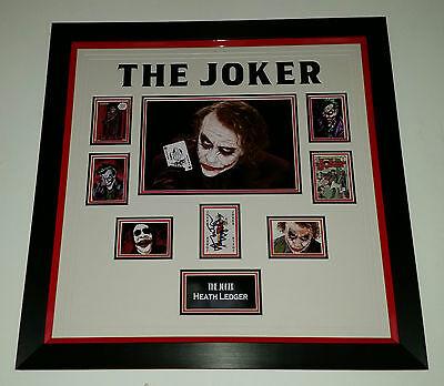 *** UNIQUE HEATH LEDGER Signed Autograph JOKER BATMAN PICTURE PHOTO and COA ***