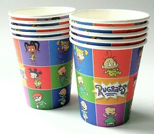 10pc. RUGRATS PARTY SUPPLIES ~ RUGRATS PARTY PAPER CUPS