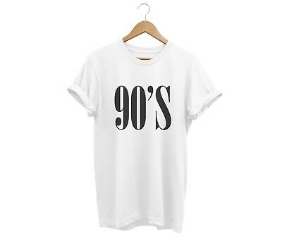 90'S T SHIRT UNISEX MENS WOMENS FUNNY HIPSTER TUMBLR SWAG FASHION - 90s Birthday