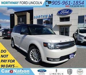 2014 Ford Flex SEL | PWR HTD LEATHER | PANO ROOF | 3 ROWS |