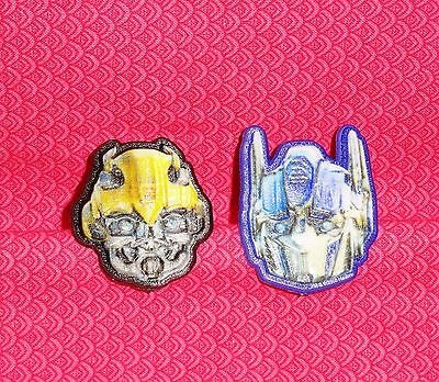 Trans Formers Bumble Bee Optimus Cupcake Party Rings 12Ct Plastic Bakery Crafts