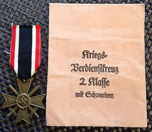 Packeted German WW2 War merit cross with swords Liverpool Liverpool Area Preview