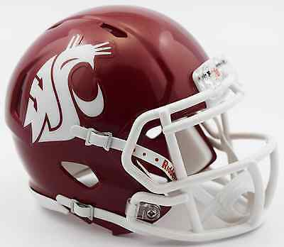 Washington Cougars Football (WASHINGTON STATE COUGARS NCAA Riddell SPEED Authentic MINI Football)