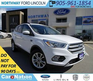 2017 Ford Escape SE | AWD | PWR HTD SEATS | PANO ROOF |