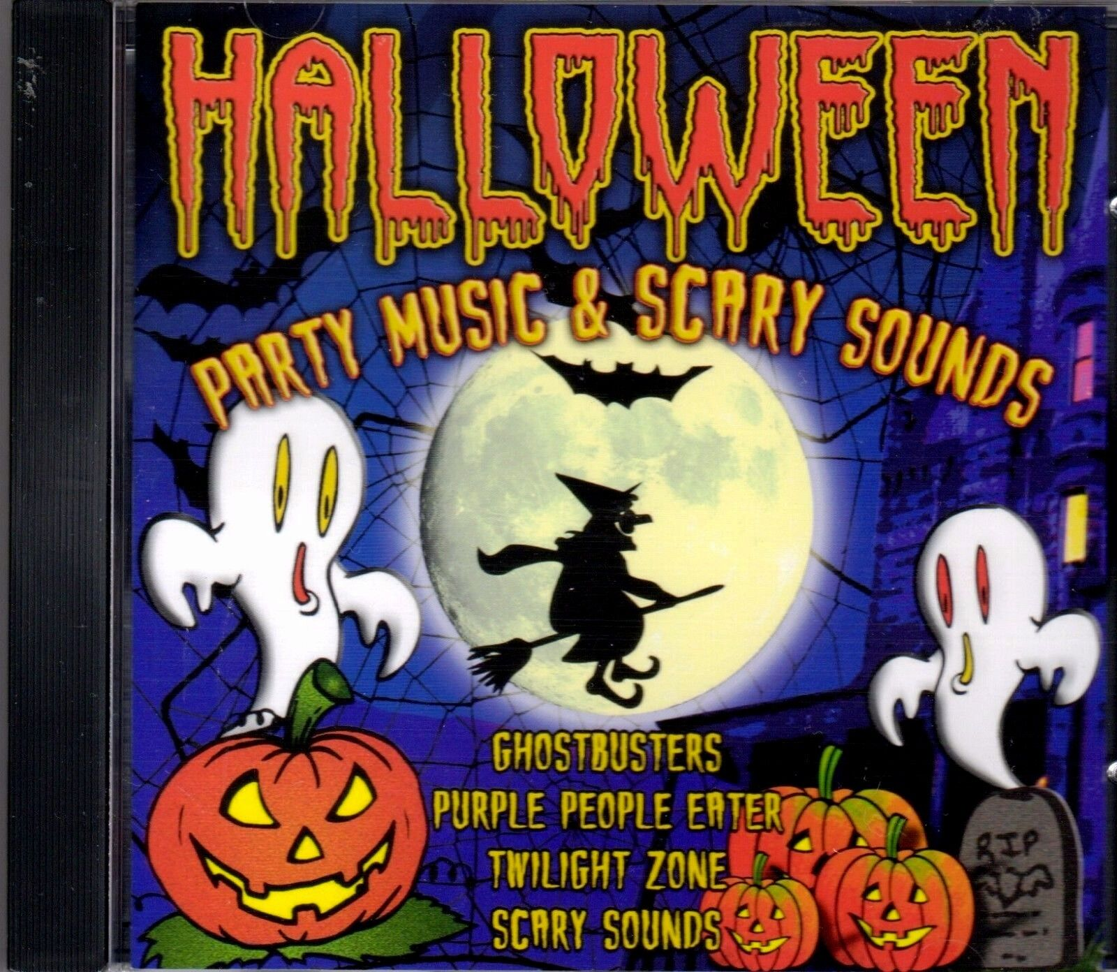 HALLOWEEN PARTY MUSIC & SCARY SOUNDS: SPOOKY SONGS & SOUND EFFECTS ...