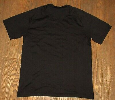 Lululemon Shirt Casual Fitness Running Black Men's Large