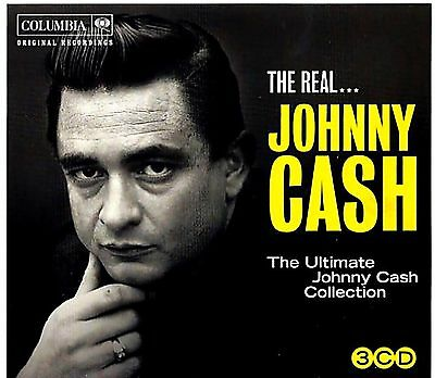 JOHNNY CASH * 88 Greatest Hits * 3-CD BOX SET * All Original Songs * NEW +SEALED