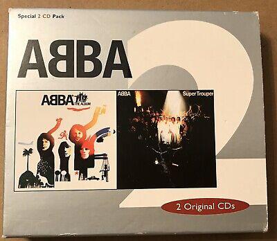 Abba - The Album Super Trouper Rare 2x CD Set Agnetha Frida Bjorn Benny 1999