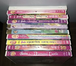 Barbie dvd's