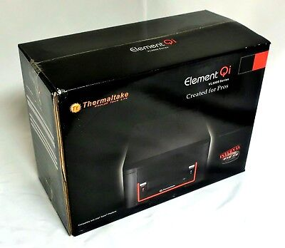 Thermaltake Element Qi Computer Mini Case Mini-ITX Chassis VL5000 +PSU 220W New