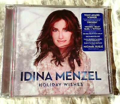 Holiday Wishes By Idina Menzel Cd Warner Bros  New Sealed