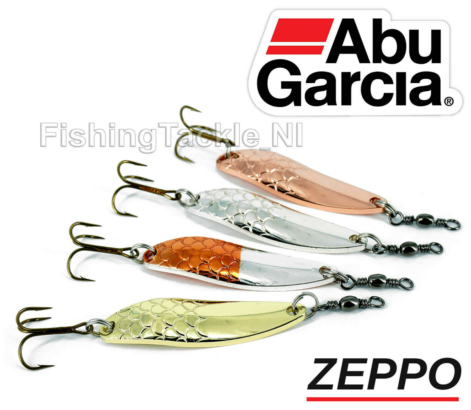 Abu Garcia Droppen Spinner Fishing Lures 7g-12g 4 Colours Best Selling Lure